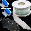 Gratis kit montaje y cuchillas ademas de los accesorios estandar